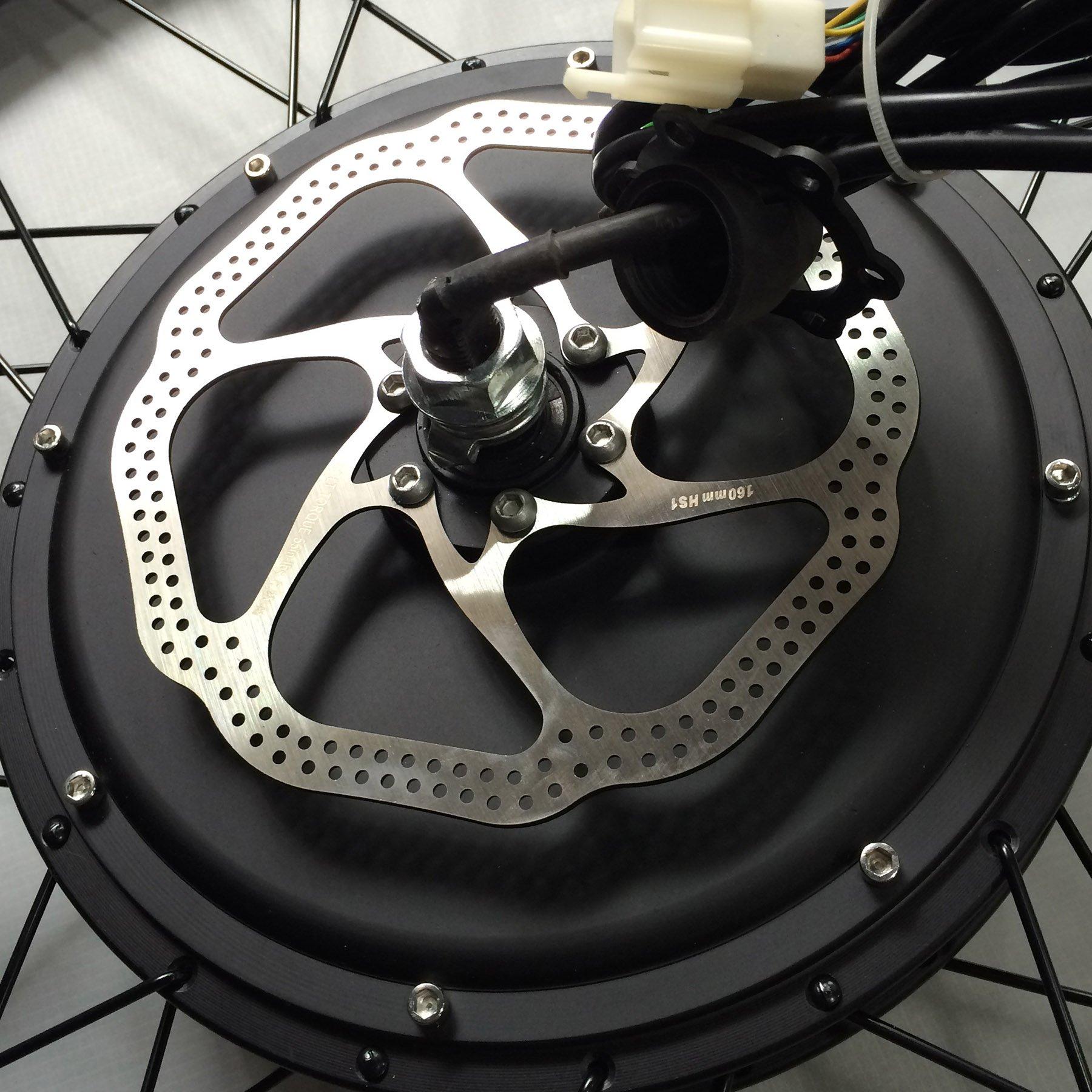 CO-Z 26 48V 1000W Hub Kit de Conversión de Bicicleta Eléctrica ...