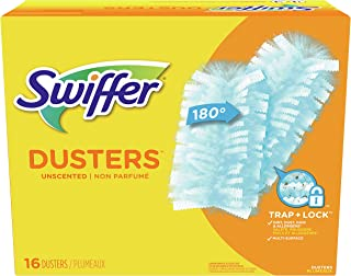 Swiffer 180 Dusters Refills For Multi Surface Cleaning, Disposable, Unscented, 16 Count