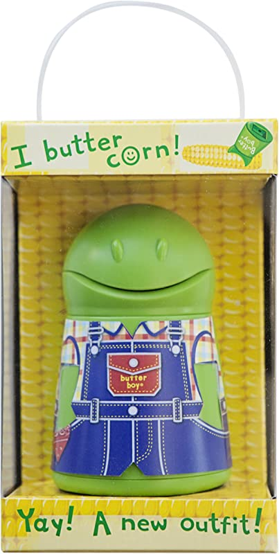 Talisman Designs Butter Boy Butter Keeper Spreader Green