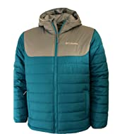Columbia Men's Horstman Glacier Hooded Pufer Jacket (Large)