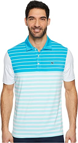 Vineyard Vines Golf - Patterson Stripe Performance Polo