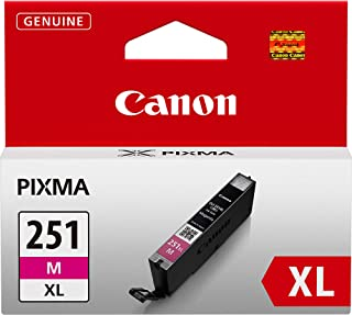 Canon CLI-251XL Magenta Ink Tank Compatible to MG6320 , IP7220 & MG5420, MX922, MG5520, MG6420, MG7120, iX6820, iP8720, MG7520, MG6620, MG5620, CLI-251 M XL