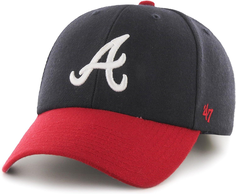 '47 MLB Atlanta Braves Juke MVP Adjustable Hat