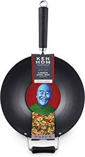 Ken Hom KH431001U Excellence Stir Fry Wok, 12