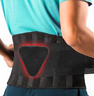 Best FEATOL Back Brace Support Belt-Lumbar Support Back Brace for Back Pain, Sciatica, Scoliosis, Herniated Disc Adjustable Support Straps-Lower Back Brace with Removable Lumbar Pad for Men & Women Review