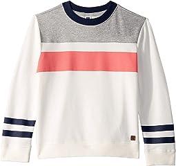 Striped Pullover Sweatshirt (Toddler/Little Kids/Big Kids)