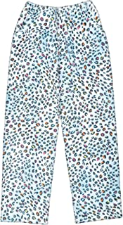 iscream Big Girls Silky Soft Plush Fleece Pants - Bold and Bright Collection