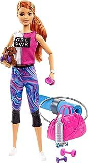 comprar comparacion Barbie Bienesta, muñeca con ropa deportiva y accesorios, regalo para niñas y niños 3-9 años (Mattel GJG57) , color/modelo ...
