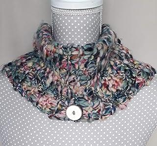 scaldacollo donna multicolor handmade