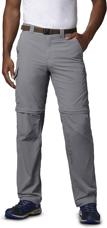 Columbia Men's Silver Ridge Congreenible Pants, Columbia Grey, 42x28