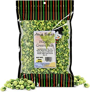 Sponsored Ad - Roasted Wasabi Hot Green Peas