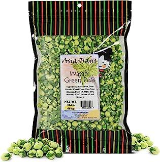 Roasted Wasabi Hot Green Peas