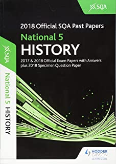 National 5 History 2018-19 SQA Specimen and Past Papers with Answers