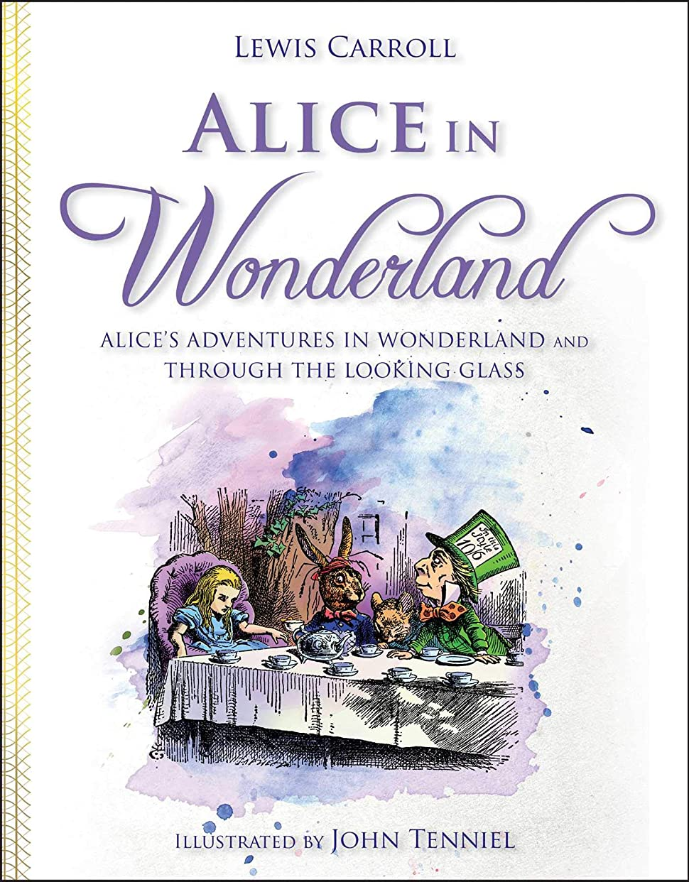 関係ない傘周術期Alice in Wonderland: Alice's Adventures in Wonderland and Through the Looking Glass (English Edition)