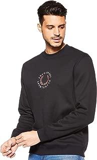 Fred Perry Mens Branded Fleece back Sweat Sweatshirts