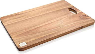 Stanley Rogers Acacia Chopping Board Large, Multi-Purpose Cutting Board, Highly Durable Serving Plate, Wooden Serving Board, Platter for Snacks and Cheese (Colour: Brown)