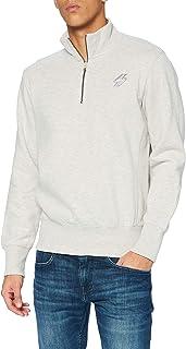 Superdry Men's Collective Half Zip Track Br Sweater