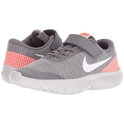 Nike Kids Flex Experience Run 7 (Little Kid) (Gunsmoke/White/Vast Grey/Total Crimson) Boys Shoes