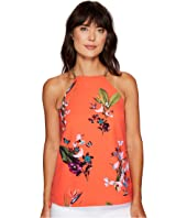 Ted Baker - Sallyy Tropical Oasis Halterneck Top