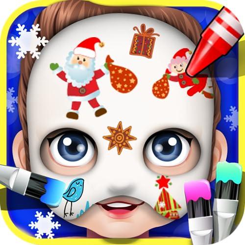 Baby Face Art Paint - kids games