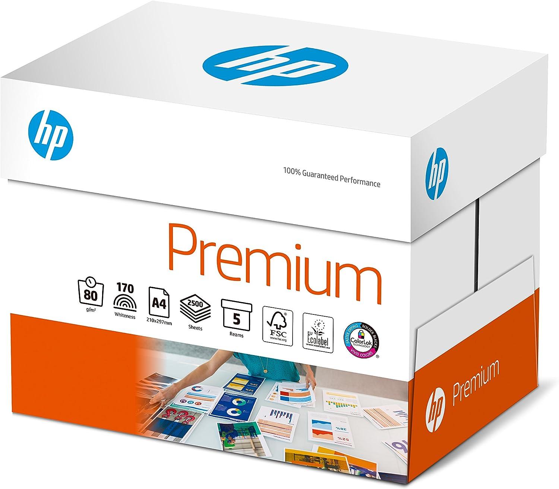Hewlett-Packard CHP 850 Premium Druckerpapier 80 g DIN-A4, 2.500 Blatt, Blatt, Blatt, hochweiß, extraglatt, 5 Pack = 1 Karton B07B447192   Meistverkaufte weltweit  0bf97e