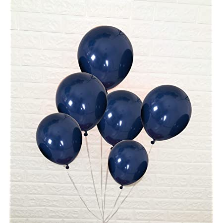 """Pack Of 200 weedind decoration Blue 5/"""" Inch Plain Latex Party Balloons"""