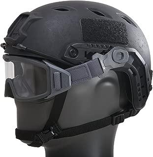 ESS Eyewear 740-0516 Profile Pivot Goggle - Gray w/1 Clear lens & 1 Smoke Gray lens