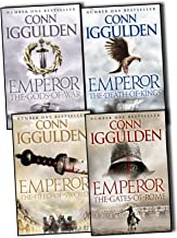 Conn Iggulden 4 Books Collection Pack Set Emperor - The Death of Kings, The Gods of War, Emperor - The Field of Swords, The Gates of Rome