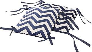 Baby Doll Bedding Chevron - Cojín para silla mecedora, color azul marino