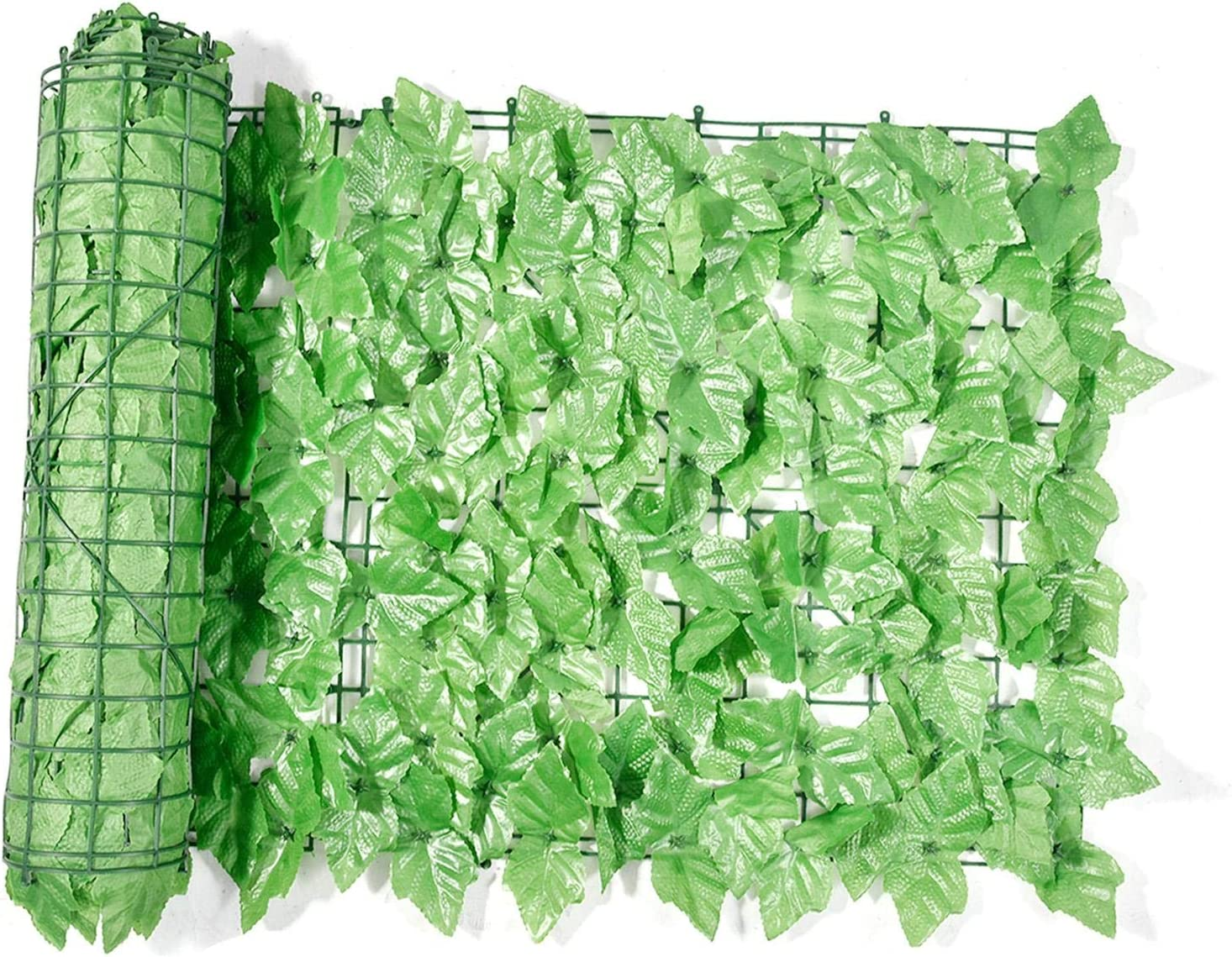 Grass Wall Artificial Grape Superior Leaf Hedge Roll 5% OFF Screening Green