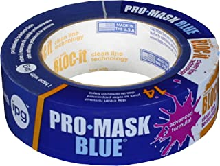 IPG ProMask Blue with BLOC-It, Premium 14-Day Masking Tape, 1.41
