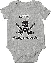 Arrr Change Me Booty - Hilarious Pirate Joke, Captain Adorable - Cute One-Piece Infant Baby Bodysuit