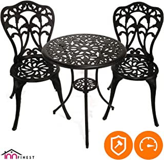 Best outdoor 5 piece wicker dining bistro table set Reviews