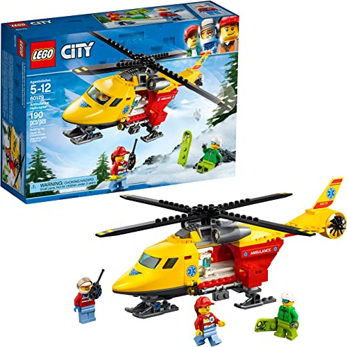 wholesale LEGO high quality City Ambulance Helicopter 60179 Building Kit, New high quality 2019 (190 Pieces) outlet online sale