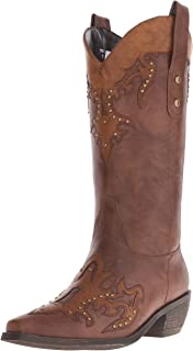 AdTec Women's 13 Inch Western Pull On Work Boot