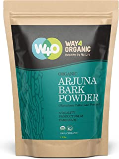 Organic Arjuna Bark Powder, 16 Ounces(1 Pound) - Way4Organic