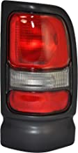 Right Passenger Side Taillight Tail Light Lamp for 1994-2001 Dodge Ram 1500, 1994-2002 Dodge Ram 2500, 3500 w/o Sport Package CH2801122 55055264AC
