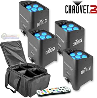 Chauvet Freedom Par Tri 6 4 Pack w/ Bag and IRC 6