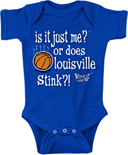Kentucky Basketball Fans. is It Just Me or Does Louisville Stink?! Onesie (NB-18M) (6M).