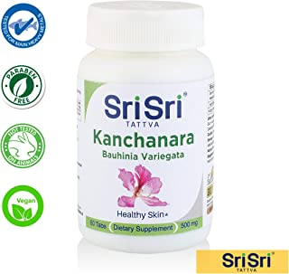 Kanchanara, 500mg - Pure Organic Herbs, Right Potency, Supports Healthy Thyroid, Lymphatic Wellness, 60 Tablets*