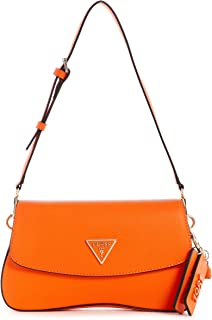 Guess Cordelia Flap Shoulder Bag Orange