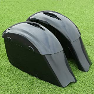 TCT-MT Hard Saddlebag Saddle Bags For Indian Chieftain Roadmaster Dark Horse Springfield Classic Limited 2014-2018 Unpainted