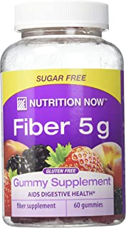 NUTRITION NOW VITAMIN ADLT GUMMY FBR 5G, 60 Ounce
