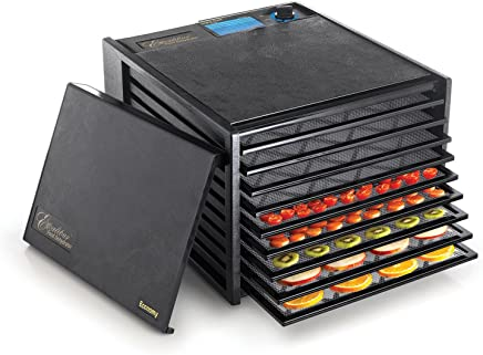 Excalibur 2900ECB 9-Tray Food Dehydrator with Adjustable Thermostat for Temperature Control...
