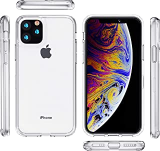 TripleEightCase Compatible with Apple iPhone 11 Pro 5.8 inch 2019 Shockproof Case, Clear Protection[Clear Hard Polycarbonate PC + Clear Soft TPU Bumper] Protection Cover Case for iPhone 11 Pro 5.8 in.