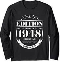 LTD Made In 1948 71st Birthday 71 Years Old Long Sleeve T-Shirt