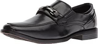 STACY ADAMS Kids' Carver Moe Toe Bit Boys Slip-on Loafer