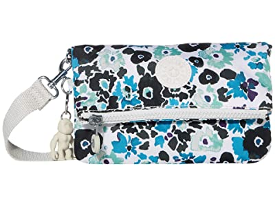 Kipling Lynne Convertible Crossbody Bag (Blue Field Floral) Handbags