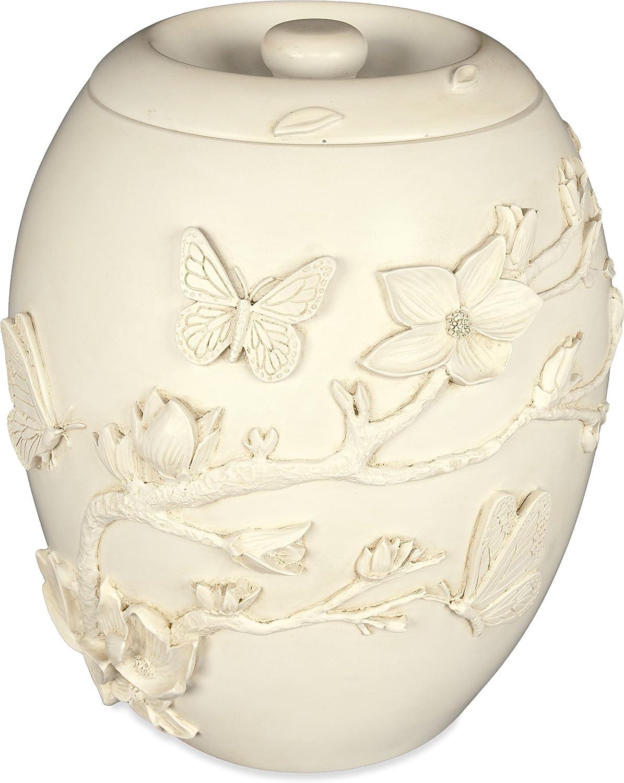 AngelStar 46270 Cherry Blossom Urn, 9-Inch