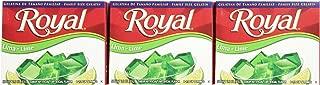 Royal Bilingual Gelatin, Fat Free Dessert Mix, Lime (12 - 2.8 oz Boxes)